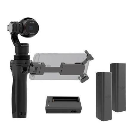 DJI Osmo Handheld 4K Camera & 3-Axis Gimbal + Two Extra Batteries