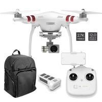 DJI Phantom 3 Standard Ready To Fly 2.7K QHD Camera Drone With 3 Axis Gimbal Smart GPS Flight Modes & Return To Home + Softshell Backpack
