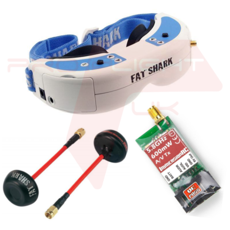 Fat Shark Dominator V2 FPV Transmission Bundle
