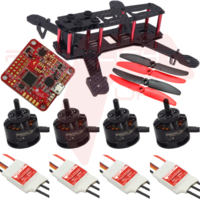 ProFlight ZMR 250 - Mini Racing Quad Complete Parts Package