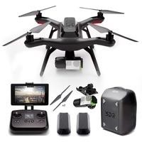 3DR Solo - Smart Aerial Drone + Gimbal + Extra Battery + Spare Propellers + Backpack