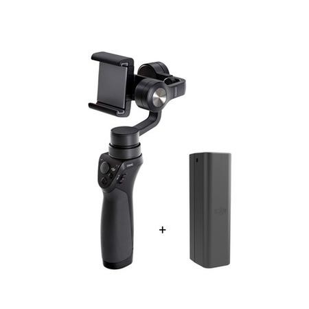 DJI Osmo Mobile Handheld 3 Axis Stabilised Gimbal with Extra Battery