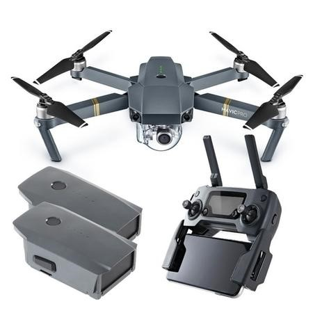 DJI Mavic Pro 4K Foldable Camera Drone + Extra Battery