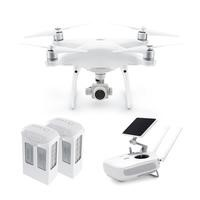 DJI Phantom 4 Pro Plus Ready To Fly 4K Camera Drone With 3-Axis Gimbal Smart GPS Flight Modes Return To Home Object Tracking Collision Avoidance & DJI GO Touchscreen Monitor + Extra Battery