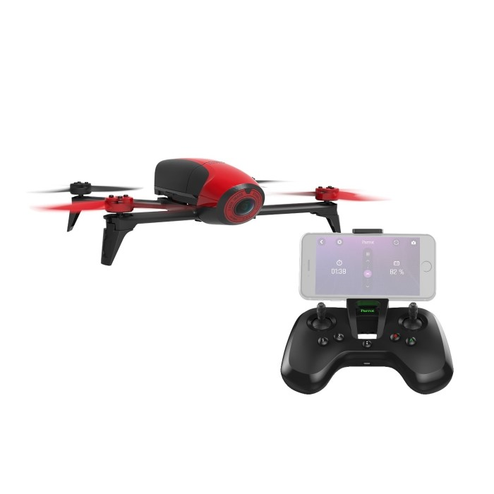Parrot BeBop 2 HD 1080p Camera Drone In Red + FlyPad Controller