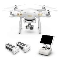 DJI Phantom 3 Professional Ready To Fly 4K UHD Camera Drone With 3 Axis Gimbal, Smart GPS Flight Modes & Return To Home + Extra Battery