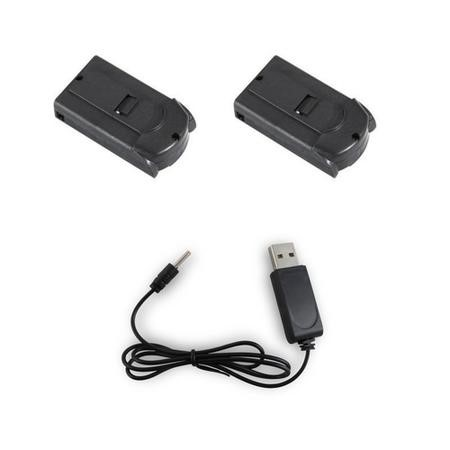 ProFlight Echo Two Rechargeable Flight Batteries + Extra USB Charger