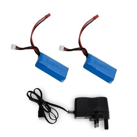 ProFlight Ranger Two Rechargeable Flight Batteries + Extra Mains Charger