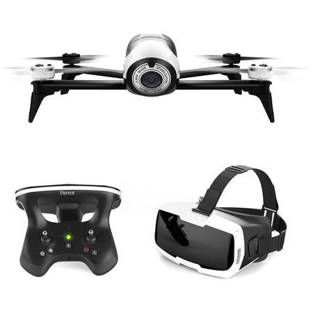 Parrot Bebop 2 FPV Bundle Full HD Camera Drone