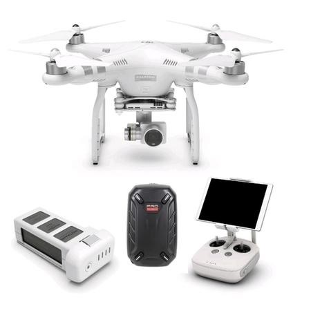 DJI Phantom 3 Advanced 2.7K Camera Drone Ready To Fly with Free Hard Shell Backpack