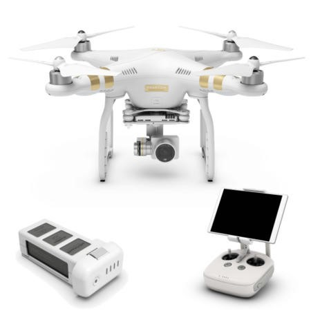 GRADE A1 - DJI Phantom 3 Professional 4K Camera Drone Ready To Fly