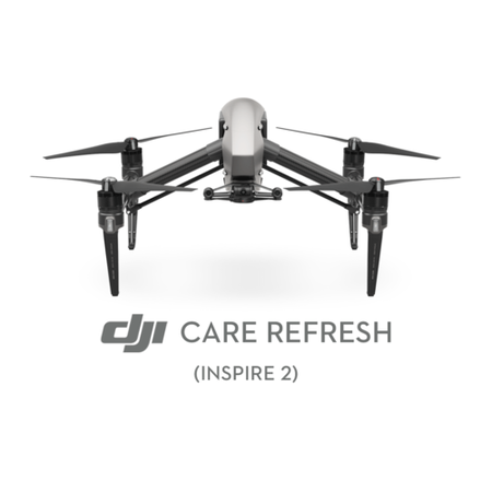 GRADE A1 - DJI Care Refresh for Inspire 2 - Card