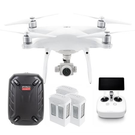 DJI Phantom 4 Advanced Plus With Two High Capacity Batteries & Free Hardshell Backpack