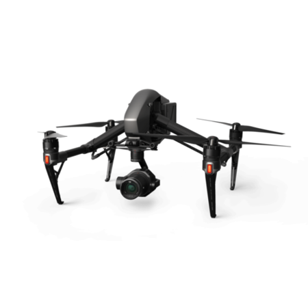 DJI Inspire 2 with Zenmuse X7 & 4 Lenses - 16mm 24mm 35mm 50mm
