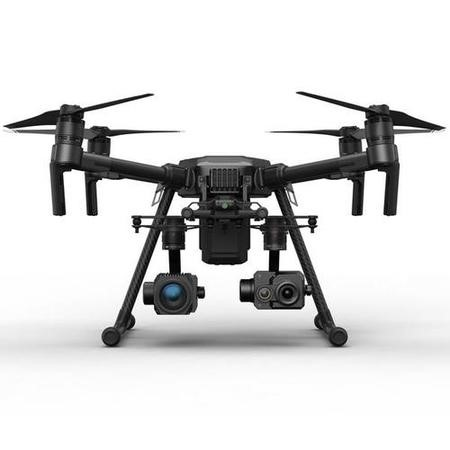 DJI Matrice 210 Drone with Zenmuse Z30 & Zenmuse XT2 336x256 30Hz 9mm Thermal Camera