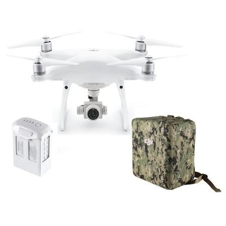 DJI Phantom 4 Advanced with Extra Battery & Camo Green Wrap