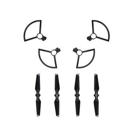 DJI Spark 4730S Quick-release Folding Propellers Full Set + Propeller Guards