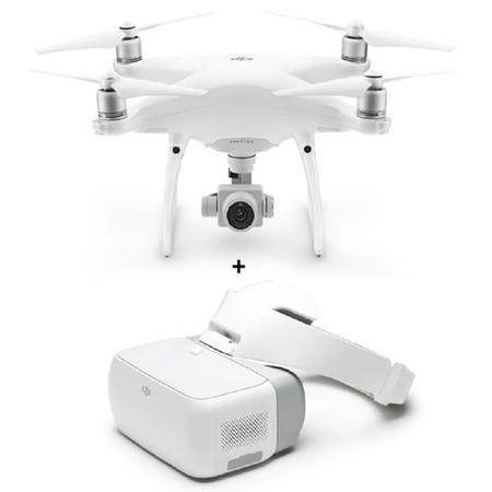 DJI Phantom 4 Pro 4K Camera Drone Goggles