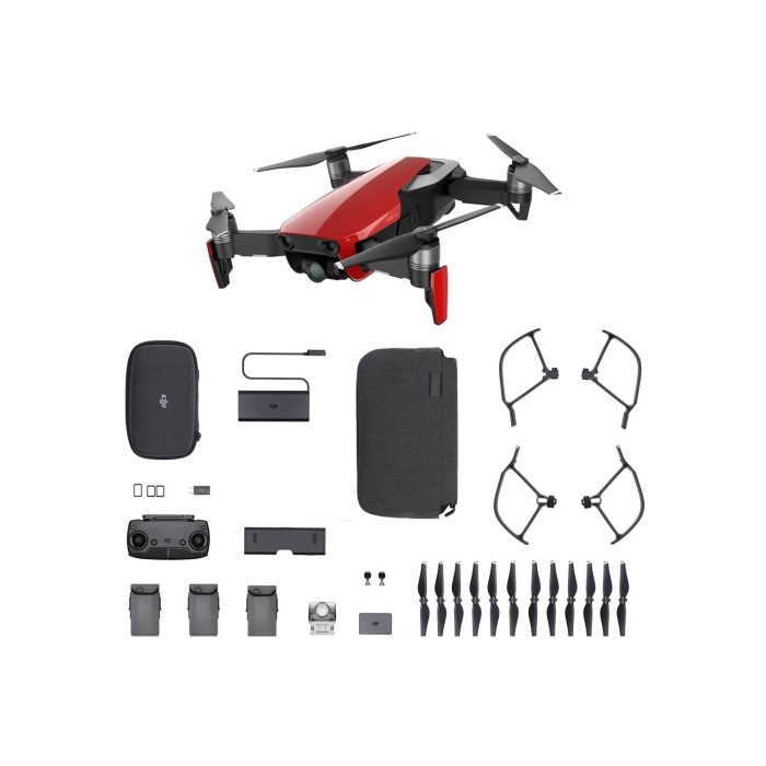 af86389888f DJI Mavic Air Drone with Fly More Combo - Flame Red CP.PT.00000172.01