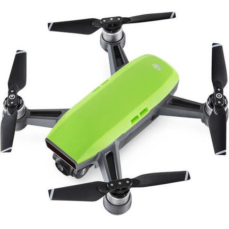 DJI Spark Pocket Sized Drone - Meadow Green with Free Soft Shell Case