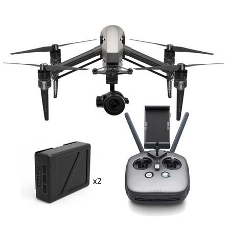 DJI Inspire 2 + Zenmuse X5S 5.2K Camera & Cinema DNG/Apple ProRes Keys