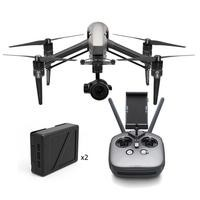 DJI Inspire 2 Combo - Including X5S Gimbal / Camera & Cinema DNG/Apple ProRes Licences