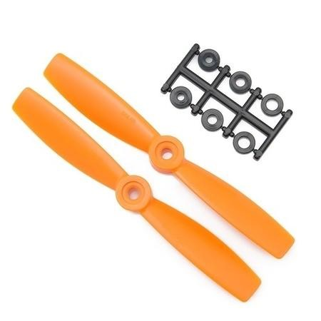 HQ Prop 4045 4x4.5 CW Propeller Pair In Orange