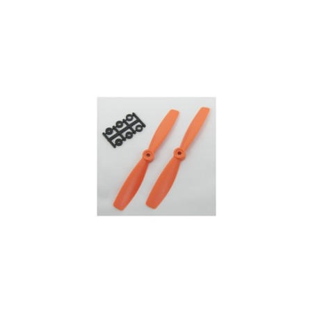 HQ Prop 5045 5x4.5 CCW Propeller Pair In Orange