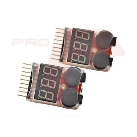 Two Drone Low Voltage Battery Alarm Buzzers For 7.4V - 29.6V 2S - 8S LiPo