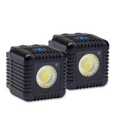 Lume Cube Mini Portable LED Action Light Two Pack  - Black