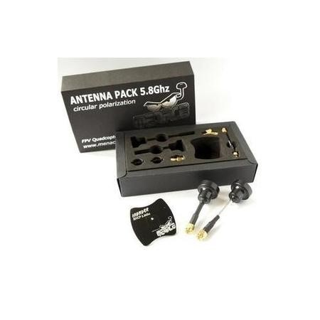 Menace RC Antenna Pack 5 8Ghz SMA RHCP