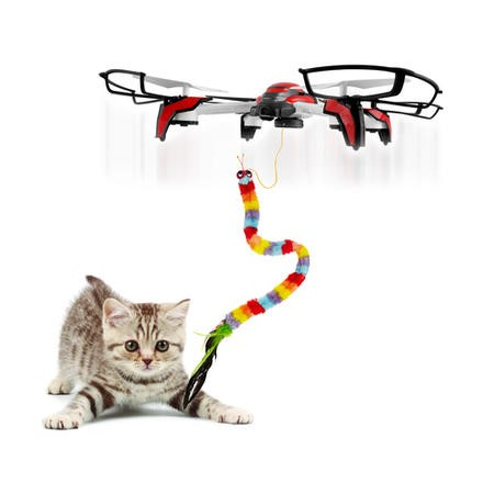 ProFlight Panthera - Cat Toy Drone - Including Catnip & Three Cat Toy Attachments - *Due Soon*