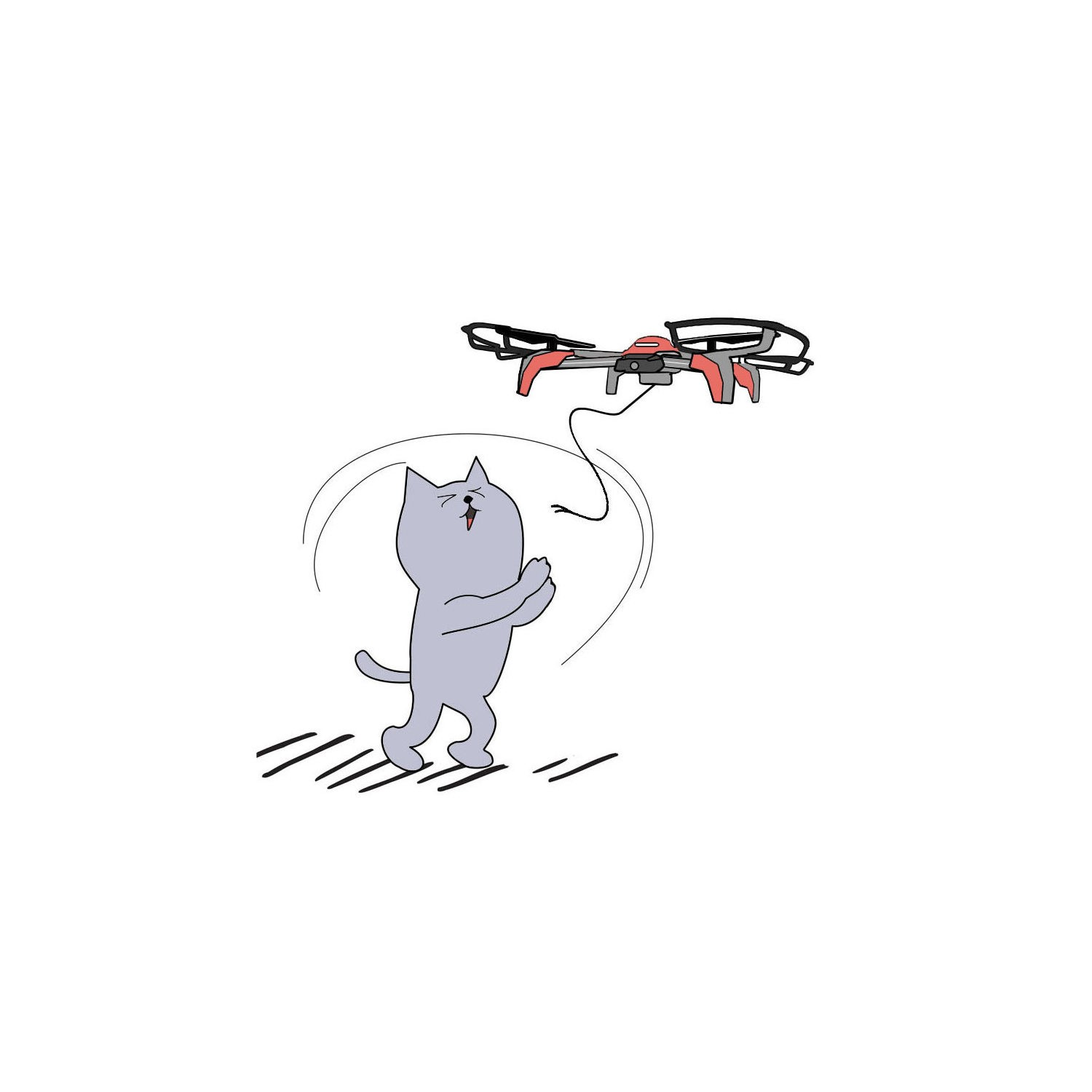 ProFlight Panthera Cat Toy Drone Including Catnip & Three Cat Toy Attachments *Due Soon*