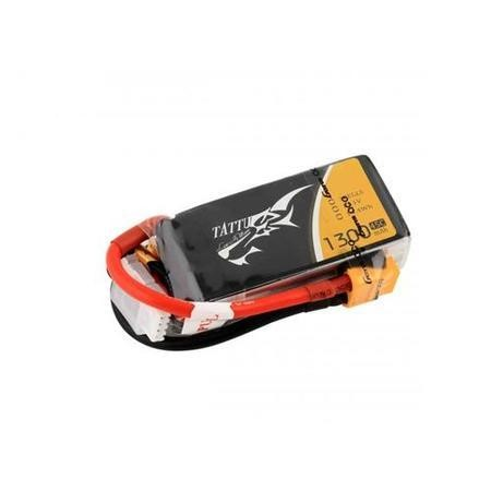 Gens Ace Tattu 1300mAh 3S 11.1V 45C LiPo Battery Pack