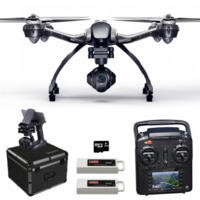 Yuneec Typhoon Q500 4K Ready To Fly Camera Drone With 3 Axis Gimbal Smart GPS Flight Modes & Return To Home + Flight Case & Extra Battery