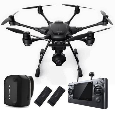 GRADE A1 - As new but box opened - Yuneec Typhoon H Pro - Real Sense Collision Avoidance + Extra Battery & Backpack