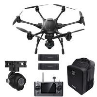 Yuneec Typhoon H Pro Sonar Collision Avoidance Camera Drone With CGOET Thermal Camera GCO3+ 4K Camera Two Batteries & Softshell Backpack