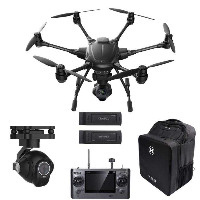 Typhoon H Pro >> Yuneec Typhoon H Pro With Cgoet Thermal Cgo3 4k Cameras Two