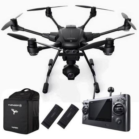 Yuneec Typhoon H Pro with Intel RealSense CGO3+ Batteries x2 and Backpack