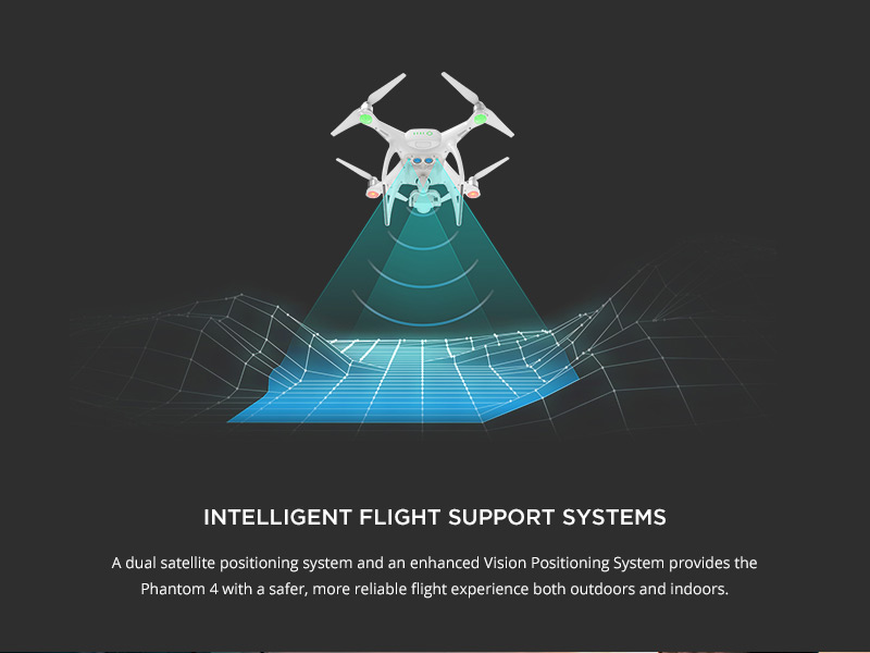 DJI Phantom 4 - Intelligent Support