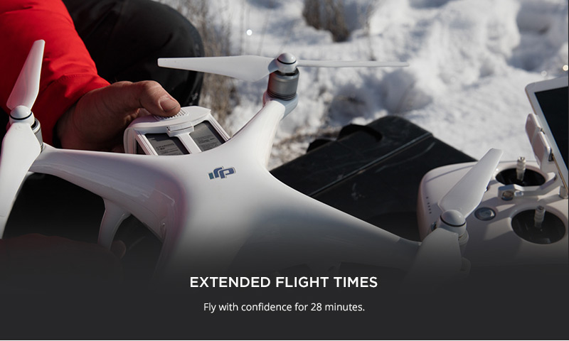 DJI Phantom 4 - Extended Flight Times