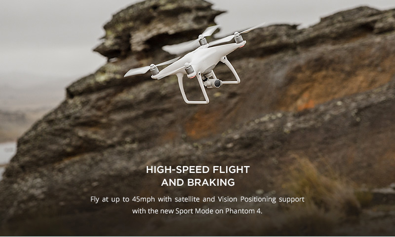 DJI Phantom 4 - High Speed