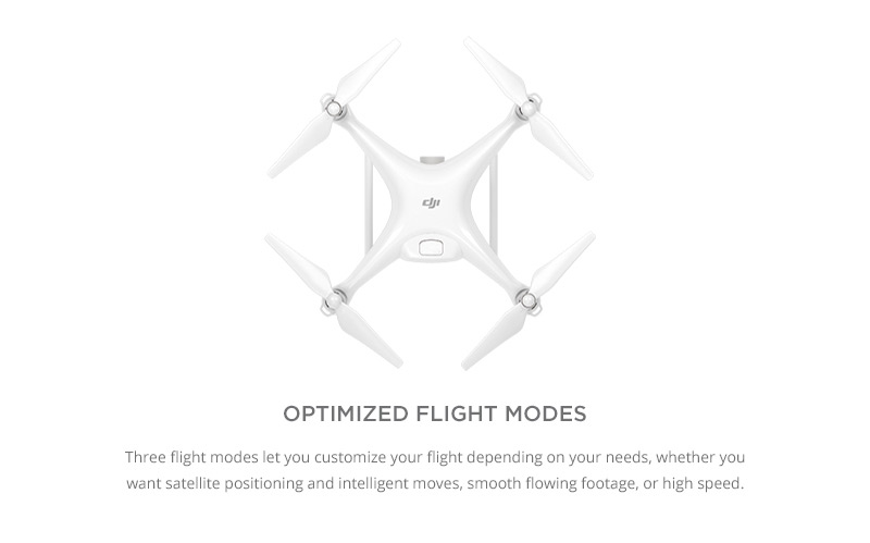 DJI Phantom 4 - Flight Mode