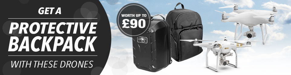 Free backpack offer