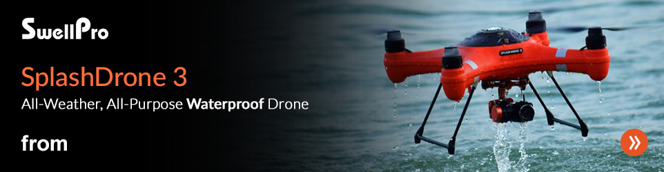 Swellpro Fishing Drone - Now In Stock