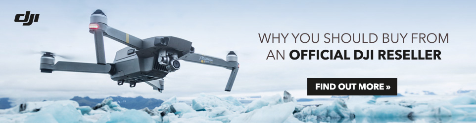 Why should you buy from Official DJI Reseller